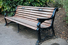 memorial bench style 1