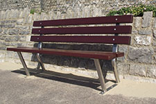memorial bench style 4