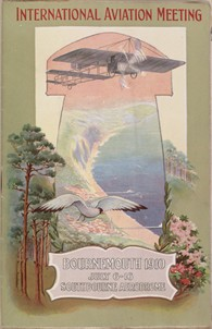 Bournemouth---Programme-for-1910-International-Aviation-Meeting