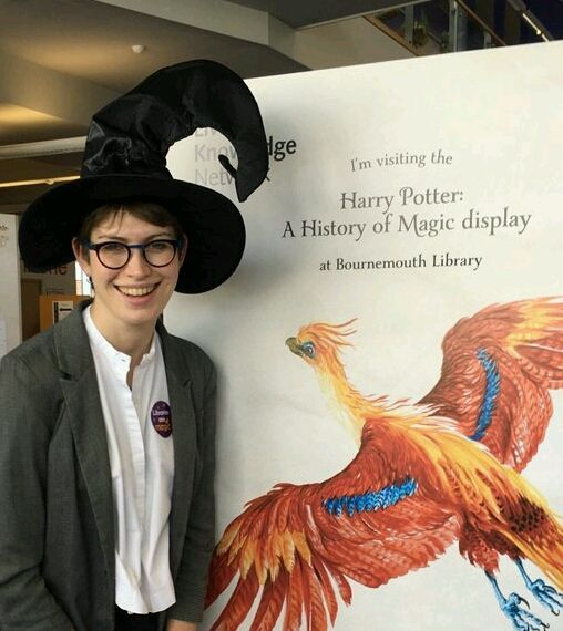 Harry Potter British Library display