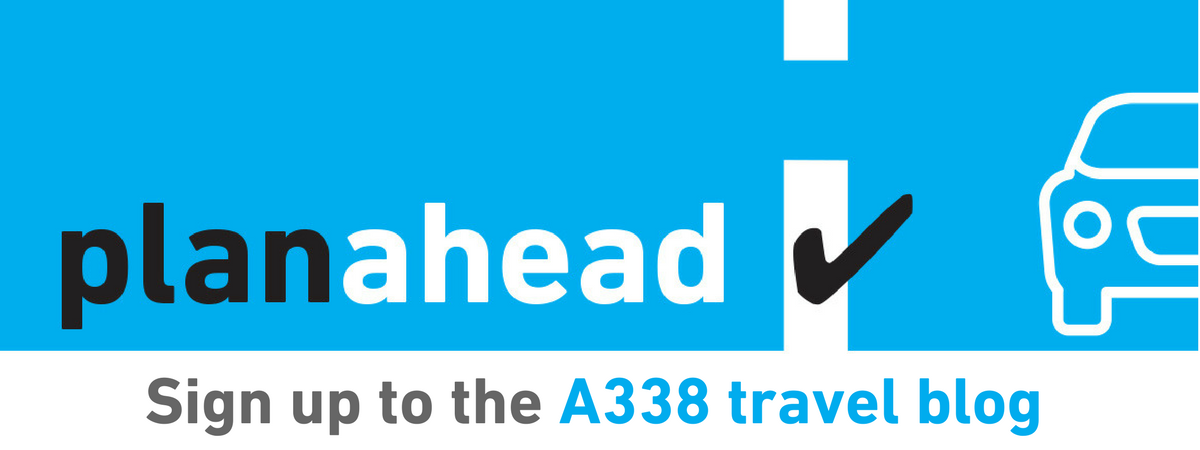 banner -Sign up to the A338 blog