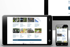 Bournemouth Borough Council website on various digital devices